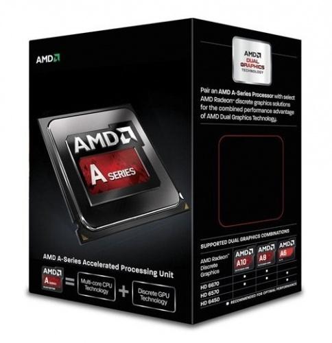 Procesador AMD A6-6400K, S-FM2, 3.90GHz (hasta 4.1GHz c/ Turbo Boost), Dual-Core, 1MB L2 Cache