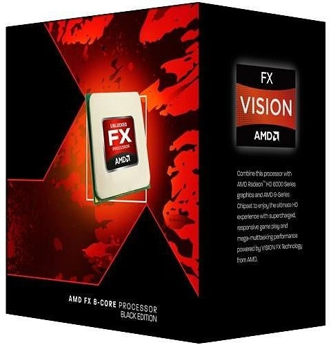 Procesador AMD FX-8320E Black Edition, S-AM3+, 3.2/4.0GHz, 8-Core, 8MB L3 Cache