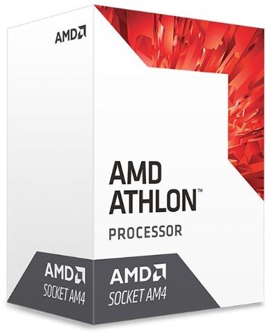 Procesador AMD Athlon 240GE con Gráficos Radeon Vega 3, S-AM4, 3.50GHz, Dual-Core, 4MB L3 Cache, con Disipador