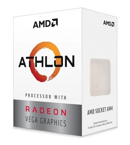 Procesador AMD Athlon 3000G con Gráficos Radeon Vega 3, S-AM4, 3.50GHz, Dual-Core, 4MB L3 Cache