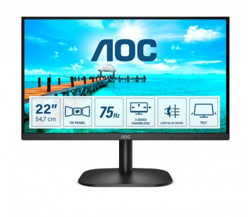 Monitor AOC 22B2H LED 21.5
