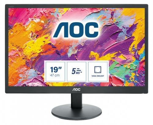 Monitor AOC e970Swn LED 18.5'', Widescreen, Negro