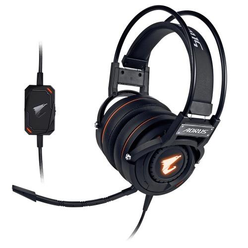 AORUS Audífonos Gamer H5, Alámbrico, 3 Metros, 3.5mm/USB, Negro