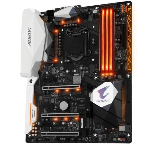 Tarjeta Madre AORUS ATX GA-Z270X-GAMING 5, LGA1151, Intel Z270, HDMI, 64 GB DDR4 para Intel