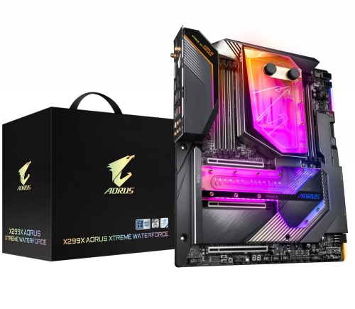 Tarjeta Madre AORUS XL-ATX X299X Xtreme Waterforce, S-2066, Intel X299 Express, max. 256GB DDR4 para Intel