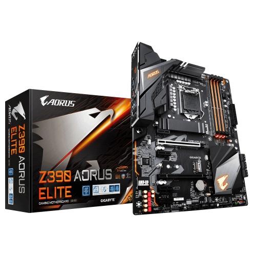 Tarjeta Madre AORUS ATX Z390 ELITE, S-1151, Intel Z390, HDMI, 128GB DDR4 para Intel ― Compatibles solo con 8va y/o  9va Generación (Revisar modelos aplicables)