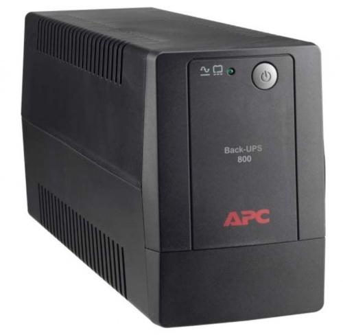 No Break APC Back-UPS BX800L-LM, 400W, 800VA, Entrada 89-145V, Salida 120V