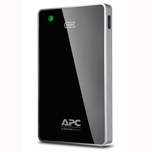 Cargador Portátil APC Power Pack M12BK, 12.000mAh, Negro/Gris