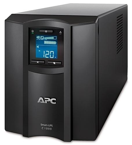 No Break APC Smart-UPS C SMC1000, 600W, 1000VA, Entrada 120V, Salida 120V