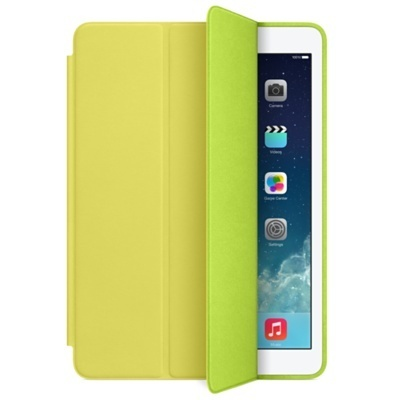 Apple Smart Case de Cuero para iPad Air, Amarillo