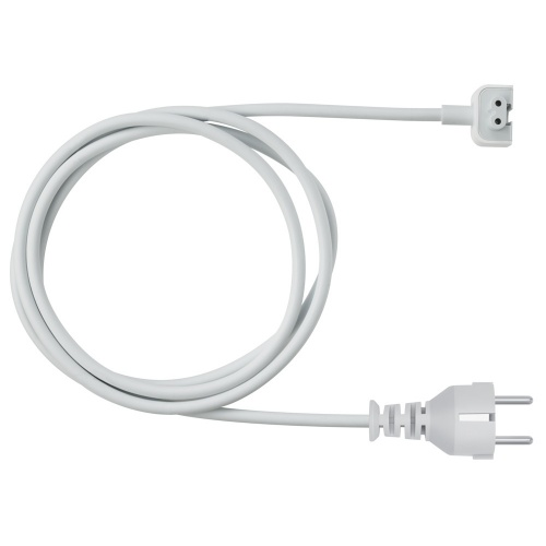 Apple Cable de Poder NEMA 5-15P Macho - Angular Macho, Blanco
