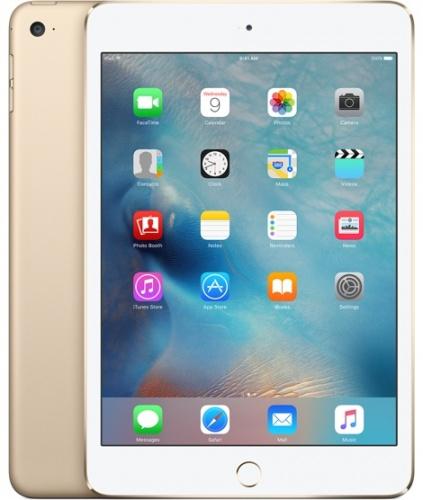 Apple iPad Mini 4 7.9'', 128GB, 2048 x 1536 Pixeles, iOS 9, WiFi, Bluetooth 4.2, Oro (Noviembre 2015)