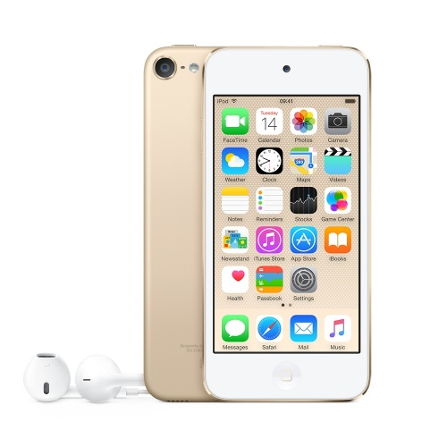 Apple iPod Touch 16GB, 8MP, Apple A8, Bluetooth 4.1, Oro