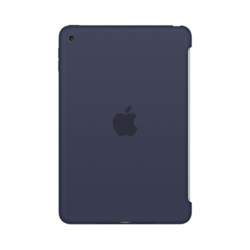 4ad0672d4de Apple Funda de Silicona para iPad Mini 4, Azul Noche, MKLM2ZM/A ...