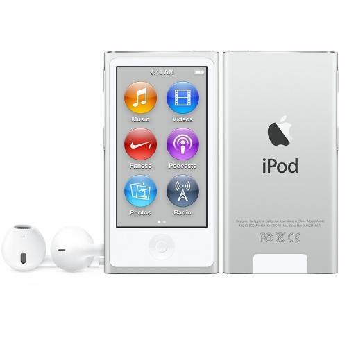 Apple iPod Nano 16GB, Plata (Septiembre 2015)