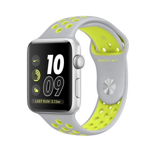 Apple Watch Nike+ OLED, watchOS 3, Bluetooth 4.0, Plata/Verde