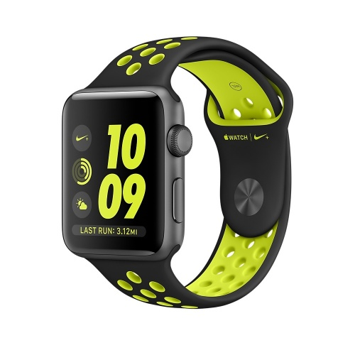 Apple Watch Nike+ OLED, watchOS 3, Bluetooth 4.0, Negro/Verde