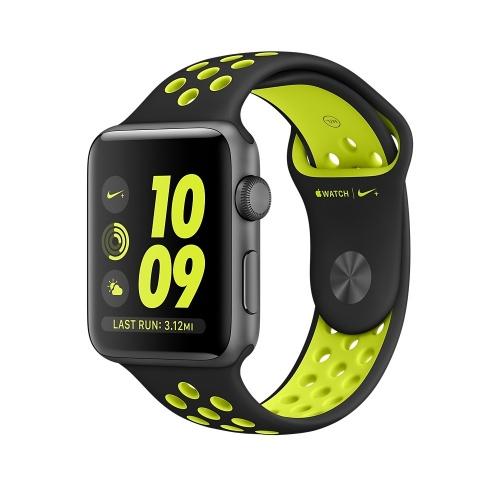 Apple Watch Nike+ OLED, watchOS 3, Bluetooth 4.0, Negro/Verde