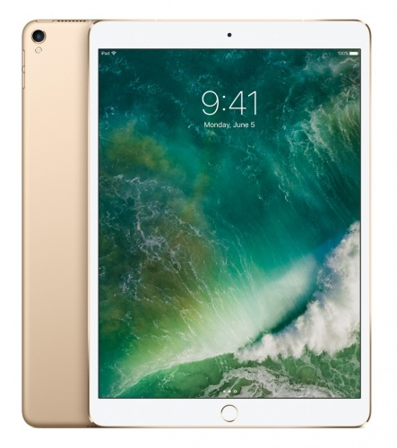 "Apple iPad Pro Retina 10.5"", 512GB, 2224 x 1668 Pixeles, iOS 10, Wi-Fi, Bluetooth 4.2, Oro (Octubre 2017)"