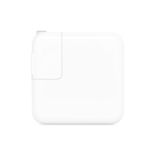 Apple Adaptador de Corriente USB-C Hembra, 30W, Blanco