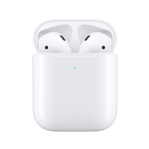 Apple AirPods (2da. Generación), Inalámbrico, Bluetooth, Blanco - incluye Estuche de Carga Inalámbrica