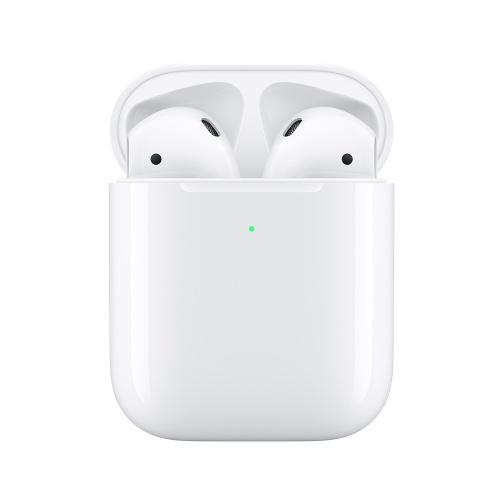Apple Audífonos Intrauriculares AirPods (2da. Generación), Inalámbrico, Bluetooth, Blanco - incluye Estuche de Carga Inalámbrico