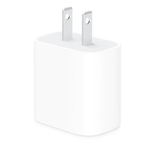 Apple Adaptador/Cargador de Corriente 18W, Blanco