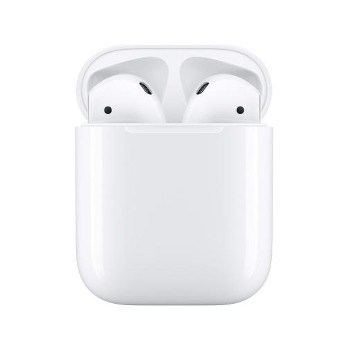Apple Audífonos Intrauriculares AirPods (2da. Generación), Inalámbrico, Blanco - incluye Estuche de Carga