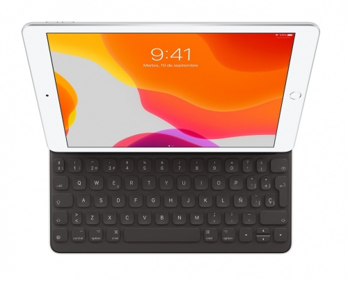 Apple Funda Smart Keyboard MX3L2E/A, Negro, para iPad 10.5