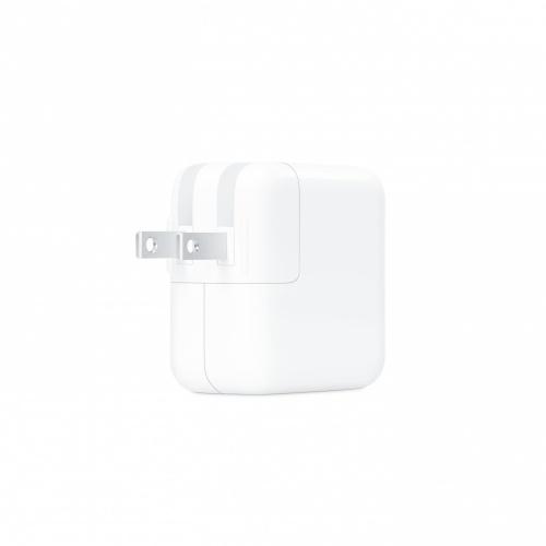 Apple Adaptador/Cargador de Corriente 30W, USB C, Blanco