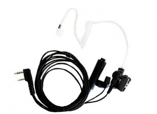 Apricot Auricular con Micrófono A4A0K03, Jack K2, 3.5/2.5mm, para Kenwood