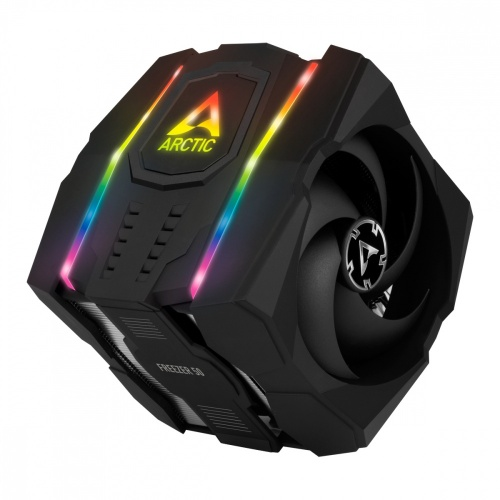 Disipador CPU Artic Freezer 50, 120/140mm, 200 - 1800RPM, Negro, con Control A-RGB