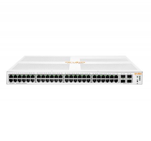 Switch Aruba Gigabit Ethernet Instant On 1930, 48 Puertos 10/100/1000Mbps + 4 Puertos SFP+, 176 Gbit/s, 16.000 Entradas - Gestionado
