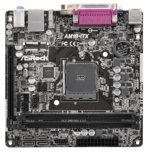 Tarjeta Madre ASRock mini-ITX AM1B-ITX, S-AM1, HDMI, 32GB DDR3, para AMD