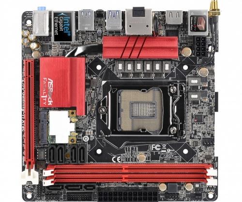Tarjeta Madre ASRock mini ITX Fatal1ty Z170 Gaming-ITX/ac, S-1151, Intel Z170, HDMI, DDR4, para Intel