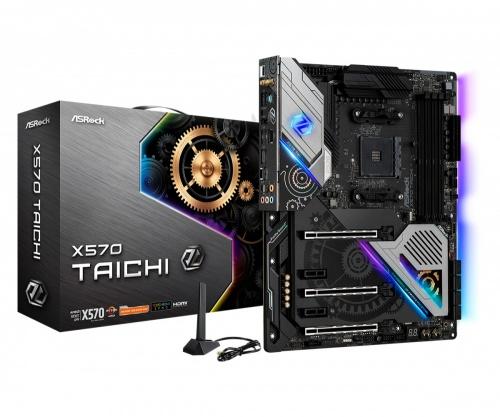 Tarjeta Madre ASRock ATX X570 Taichi, S-AM4, AMD X570, HDMI, 128GB DDR4 para AMD