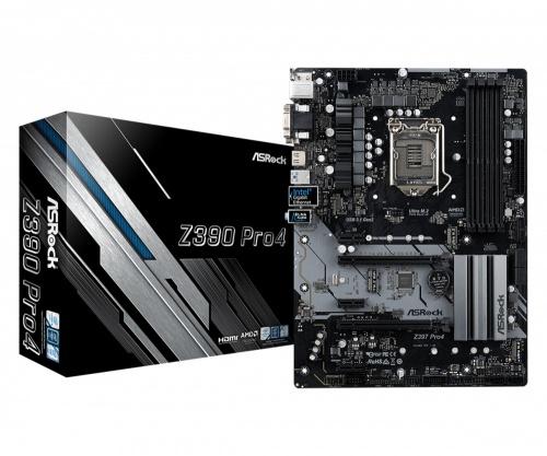 Tarjeta Madre ASRock ATX Z390 PRO4, S-1151, Intel Z390, HDMI, 64GB DDR4 para Intel ― Compatibles solo con 8va & 9va Generación