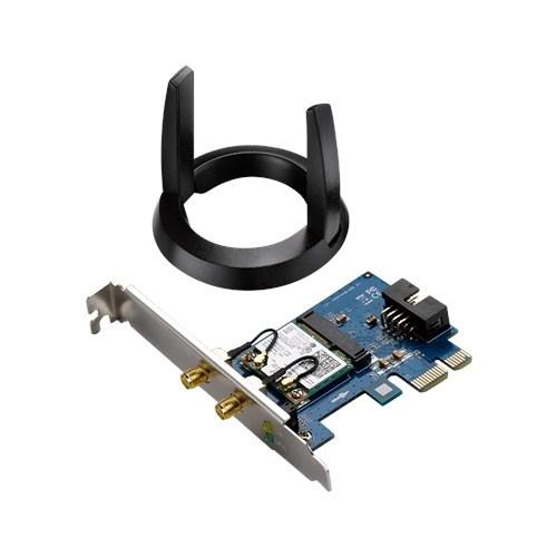 ASUS Tarjeta de Red PCI Express, Inalámbrico, WLAN, 2 Antenas