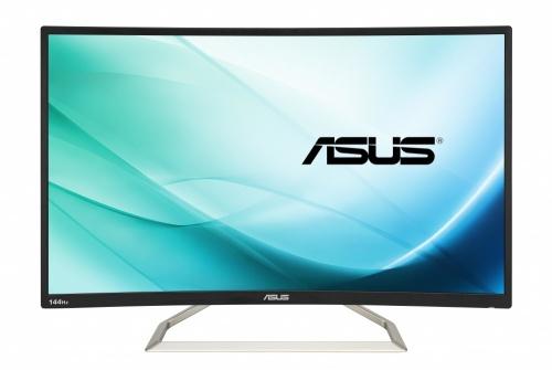 Monitor Gamer Curvo ASUS VA326H LED 31.5'', FullHD, Widescreen, 144Hz, HDMI, Bocinas Integradas (2 x 4W), Negro