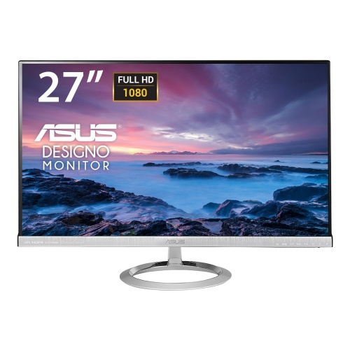 Monitor ASUS MX279H LED 27'', FullHD, Widescreen, 2x HDMI, Negro/Plata - Bocinas Integradas (2 x 3W)