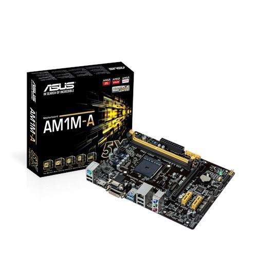 Tarjeta Madre ASUS micro ATX AM1M-A, S-AM1, HDMI, 32GB DDR3, para AMD