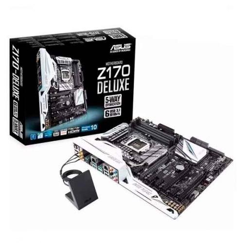 Tarjeta Madre ASUS ATX Z170-DELUXE, Intel Z170, HDMI, 64GB DDR4, para Intel ― Requiere Actualización de BIOS para trabajar con Procesadores de 7ma Generación