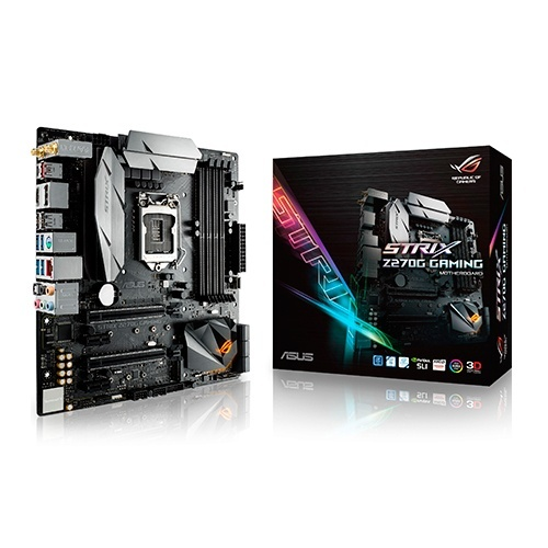 Tarjeta Madre ASUS ATX ROG STRIX Z270G GAMING, S-1151, Intel Z270, 64GB DDR4 para Intel