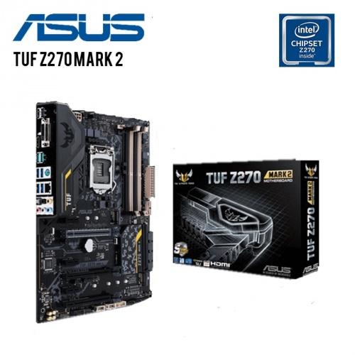 Tarjeta Madre ASUS ATX TUF Z270 MARK 2, S-1151, Intel Z270, HDMI, USB 3.0, 64GB DDR4, para Intel