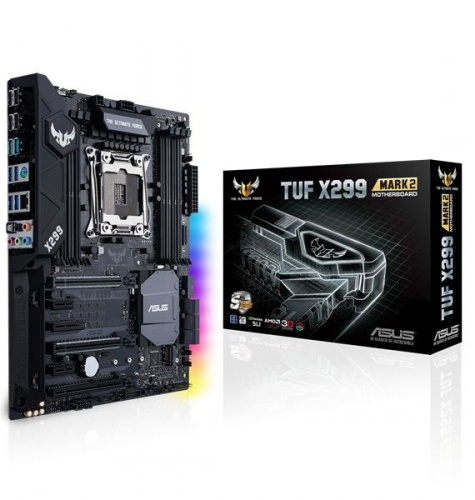 Tarjeta Madre ASUS ATX TUF X299 MARK 2, S-2066, Intel X299, 128GB DDR4, para Intel
