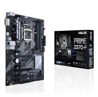 Tarjeta Madre ASUS ATX PRIME Z370-P, S-1151, Intel Z370, HDMI, USB 3.0, 64GB DDR4, para Intel ― Compatibles solo para 8va Generación