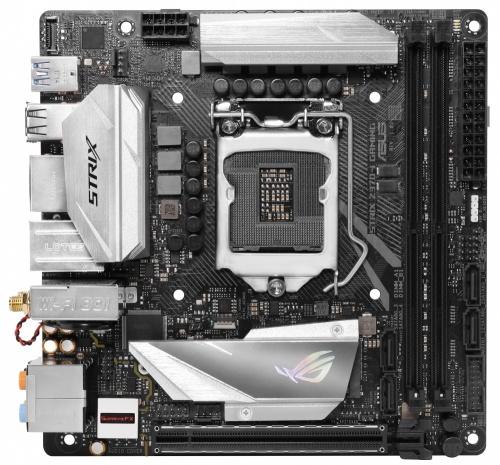 Tarjeta Madre ASUS mini ITX ROG STRIX Z370-I GAMING, S-1151, Intel Z370, HDMI, 32GB DDR4, para Intel ― Compatibles solo para 8va Generación