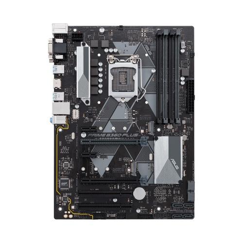 Tarjeta Madre ASUS ATX PRIME B360-PLUS, S-1151, Intel B360, HDMI, 64GB DDR4 para Intel ― Compatibles solo para 8va Generación ― Compatibles solo con 8va & 9va Generación
