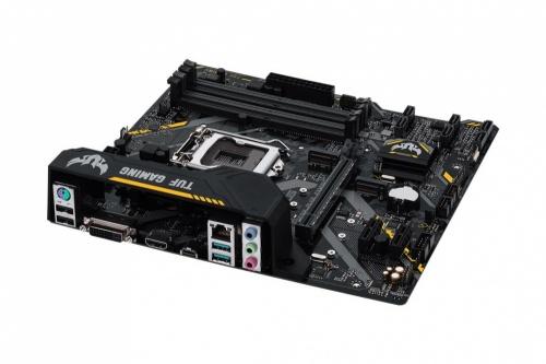Tarjeta Madre ASUS micro ATX TUF B360M-PLUS GAMING, S-1151, Intel B360, HDMI, 64GB DDR4 para Intel ― Compatibles solo con 8va & 9va Generación
