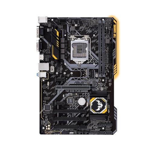 Tarjeta Madre ASUS ATX TUF H310-PLUS GAMING, S-1151, Intel H310, HDMI, 32GB DDR4 para Intel ― Compatibles solo con 8va & 9va Generación